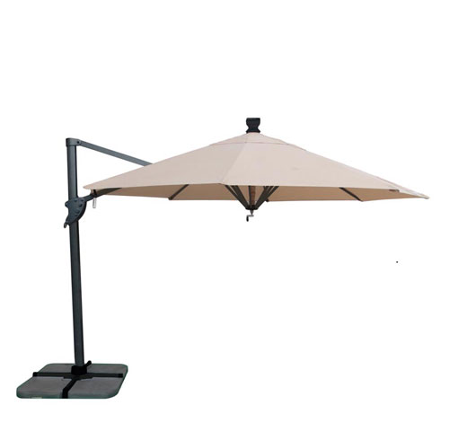 trieste ombrellone giardino