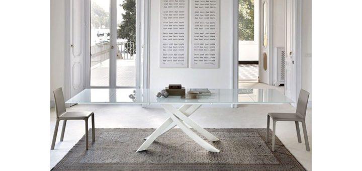 Tavoli in vetro allungabili Bontempi: Prezzi e Design ...