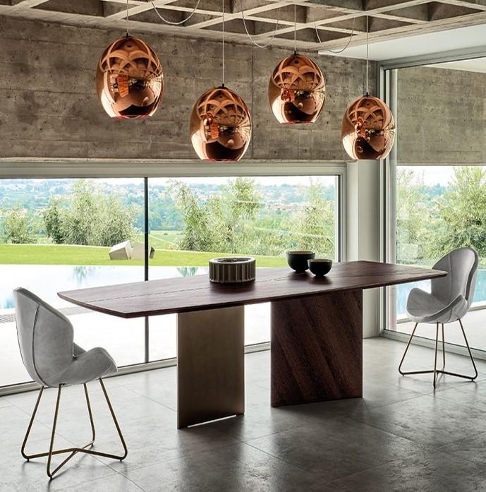 Tavoli moderni in legno: Epsilon, Arketipo