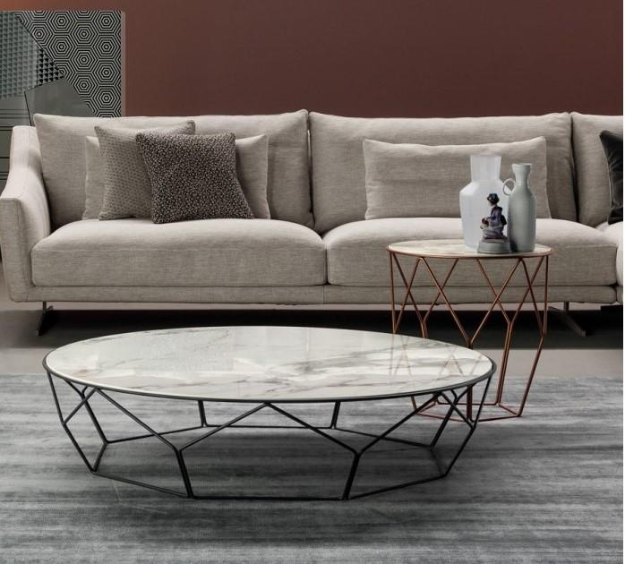 tavolini salotto moderni Arbor Bonaldo