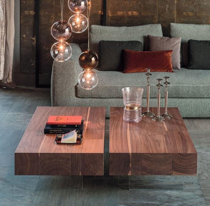 tavolini salotto moderni lingotto Cattelan Italia