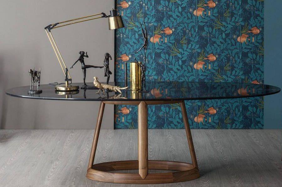 tavolo in pietra Greeny Bonaldo Arredare Moderno