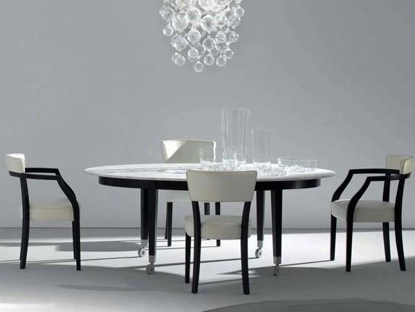 I Tavoli Con Piano In Marmo Perfetti Per La Zona Giorno Arredare Moderno