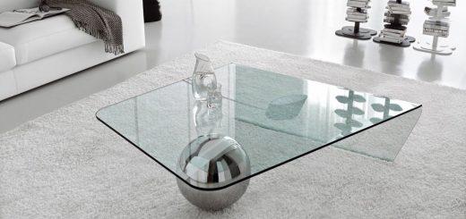 tavolino in vetro Globe Cattelan Italia