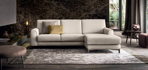 divano con chaise longue Newman Felis