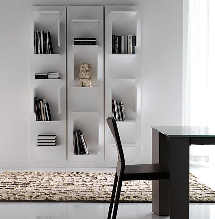 abbastanza Libreria design: meglio da parete o freestanding? | Arredare Moderno SL42