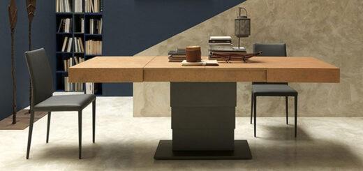 tavolino Ares Fold Altacom aperto tavolo moderno arredare moderno