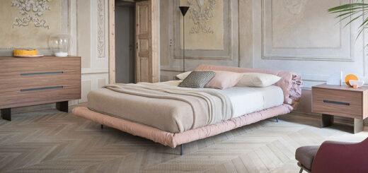 letto blanket bonaldo arredo moderno