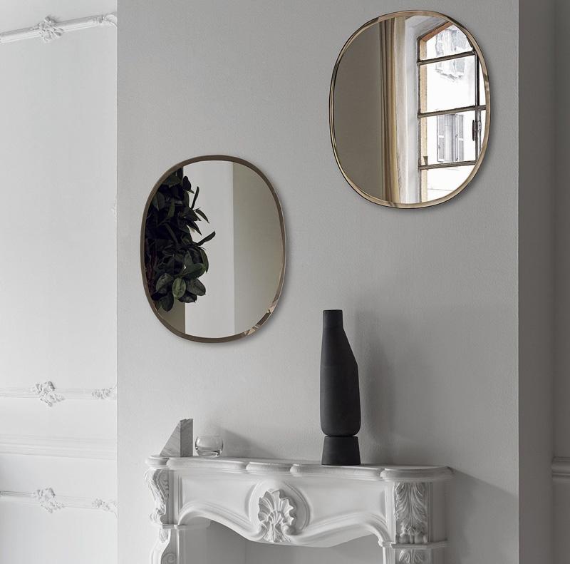 Novità Bontempi Casa specchio Renoir Arredare Moderno