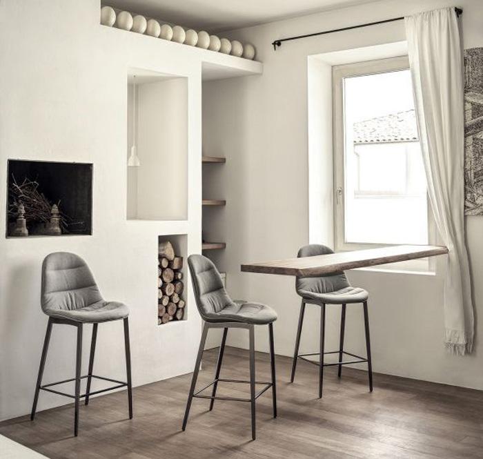 arredamento moderno sgabello design Mood Bontempi Casa
