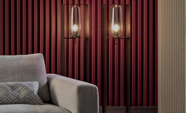 arredo soggiorno moderno lampada Bio-s Bonaldo
