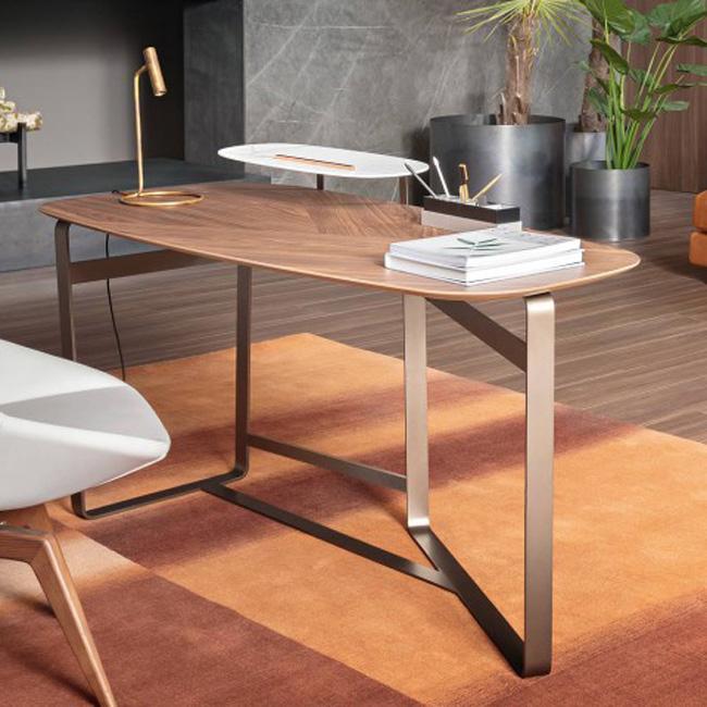 arredo soggiorno moderno scrivania Gauss Bonaldo Arredare Moderno