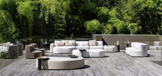 arredamento esterno Varaschin Belt outdoor therapy Arredare Moderno