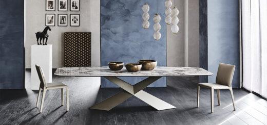 tavoli cattelan italia tyron keramik arredare moderno