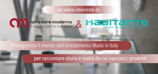 Videointerviste di Arredare Moderno e Habitante