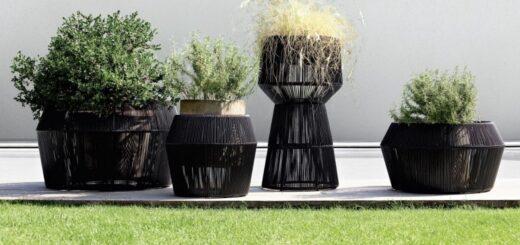 come arredare il giardino con i vasi da esterno