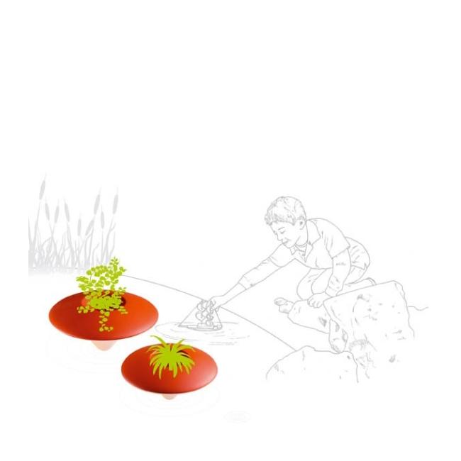 Vaso design NINFEA 57 Plust