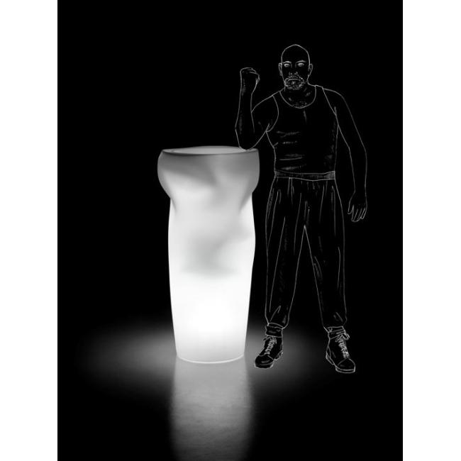 Vaso luminoso SAVING/SPACE/VASE Plust