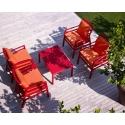 Tavolino giardino esterno Nardi Aria 100