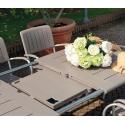 Tavolo allungabile giardino esterno Nardi Maestrale 220