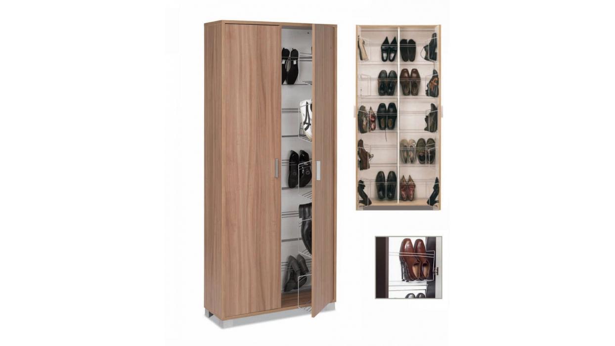 Scarpiera armadio in legno 40 paia - Arredare Moderno