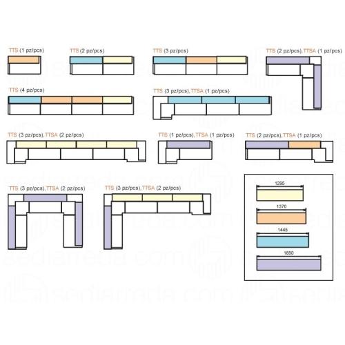 Tetris Pedrali