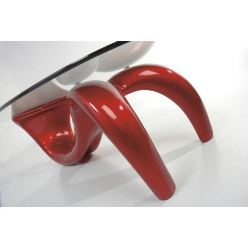 Tavolino piano in vetro Tomasucci Sirio
