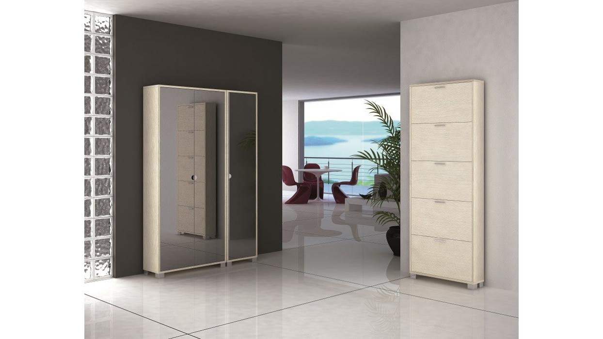 Scarpiera armadio specchio 20 paia - Arredare Moderno