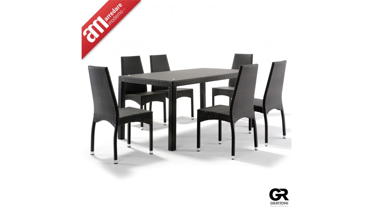 tisch grattoni muster gt 990 arredare moderno. Black Bedroom Furniture Sets. Home Design Ideas