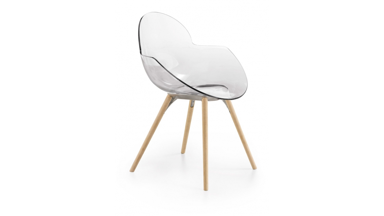 Stuhl infiniti design muster cookie wooden legs arredare for Infiniti design stuhl