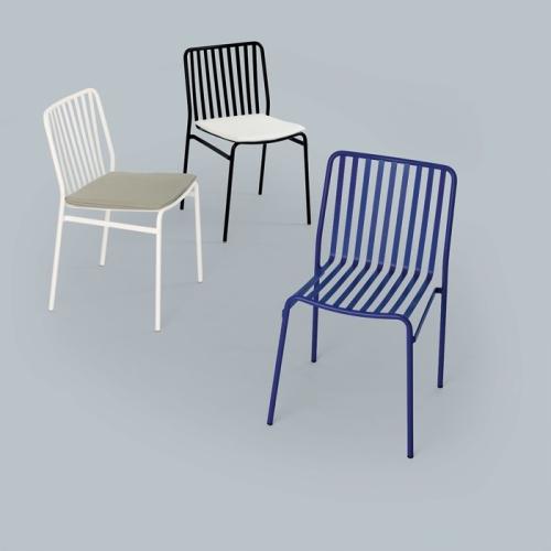 Street Stuhl Ingenia Casa für drinnen by Bontempi