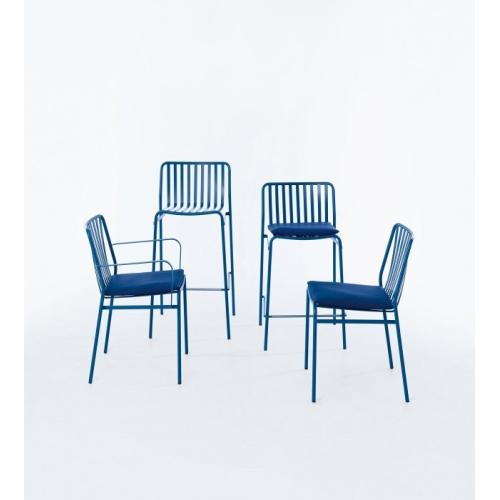 Street Stuhl Ingenia Casa Bontempi für Außenbereich mit Armlehnen
