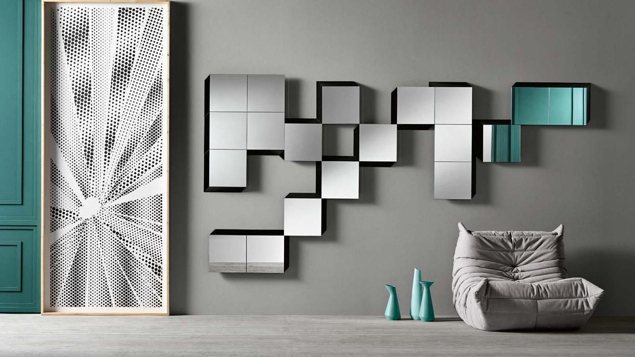 Spiegel tonelli design muster guidoriccio arredare moderno