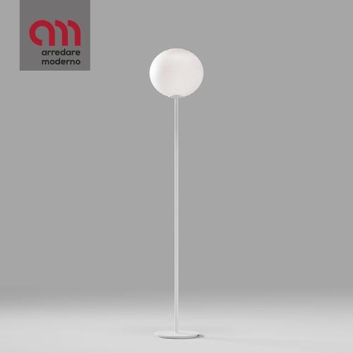 Flow Glass Rotaliana Stehlampe