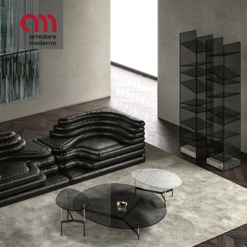 After9 Couchtisch Tonelli Design Glasplatte