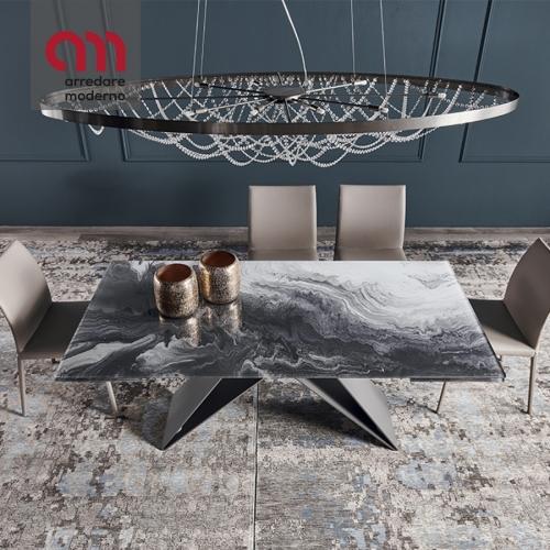 Premier Crystalart Drive Tisch Cattelan Italia