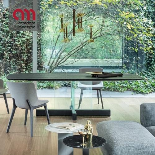 Cross Table Glass Bonaldo Tisch