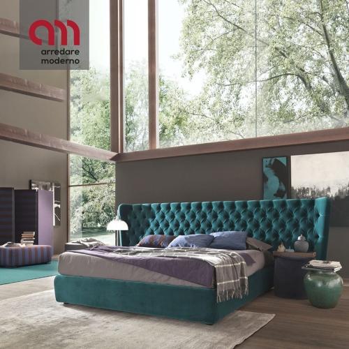 Einzelbett und eine Hälfte Selene Extra Large Bolzan Letti