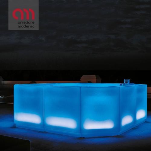 Nova Myyour beleuchtete Bar-Theke