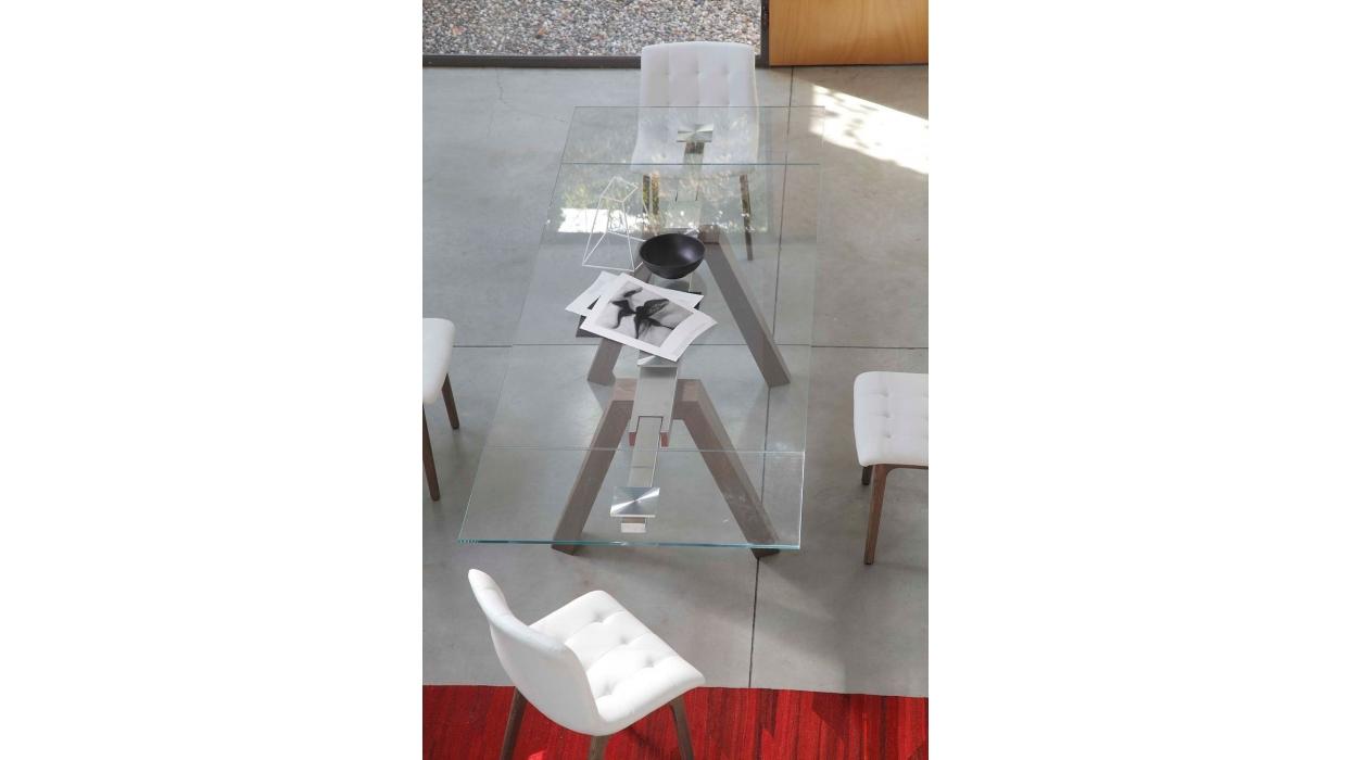 Tisch bontempi casa muster aron ausziehbar arredare moderno