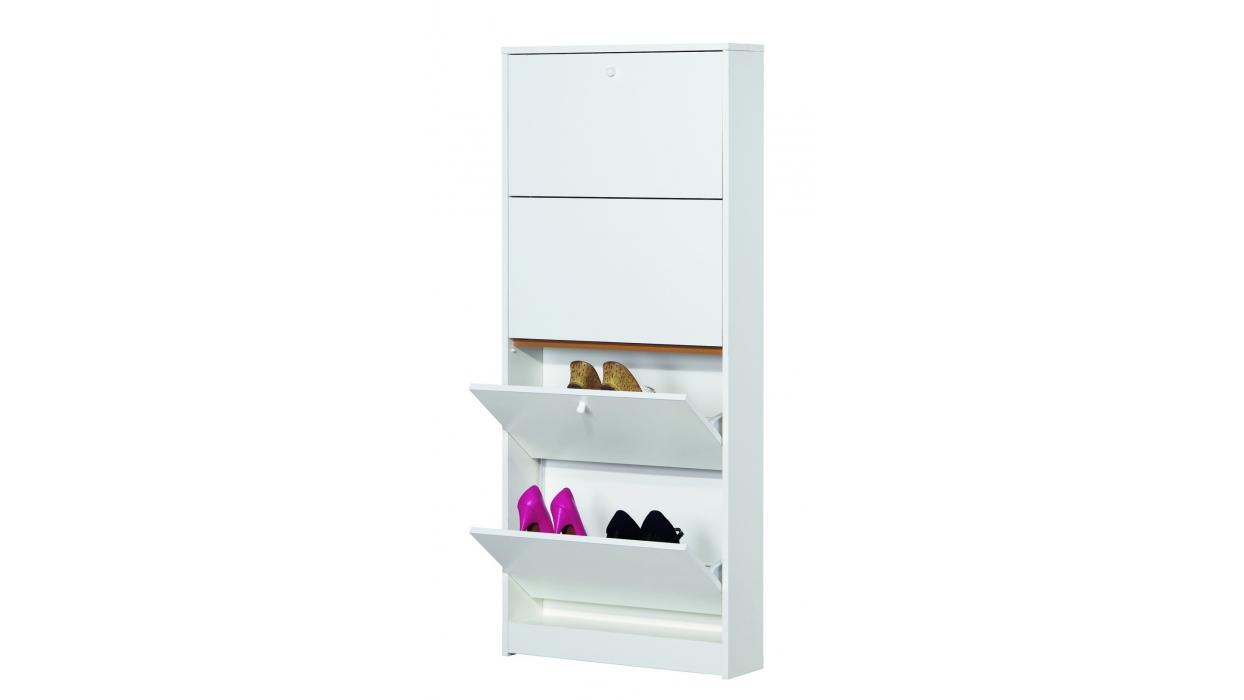 slim schuhschrank 10 paar kod 184 arredare moderno. Black Bedroom Furniture Sets. Home Design Ideas