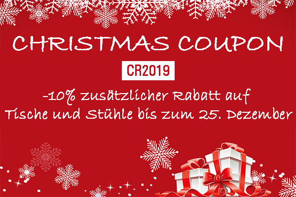 christamas coupon mobel