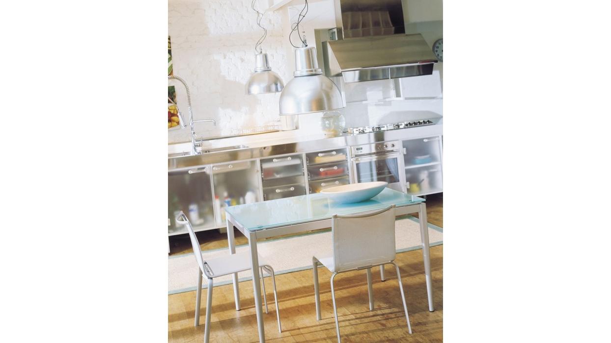 tavolo diesis bontempi casa arredare moderno. Black Bedroom Furniture Sets. Home Design Ideas