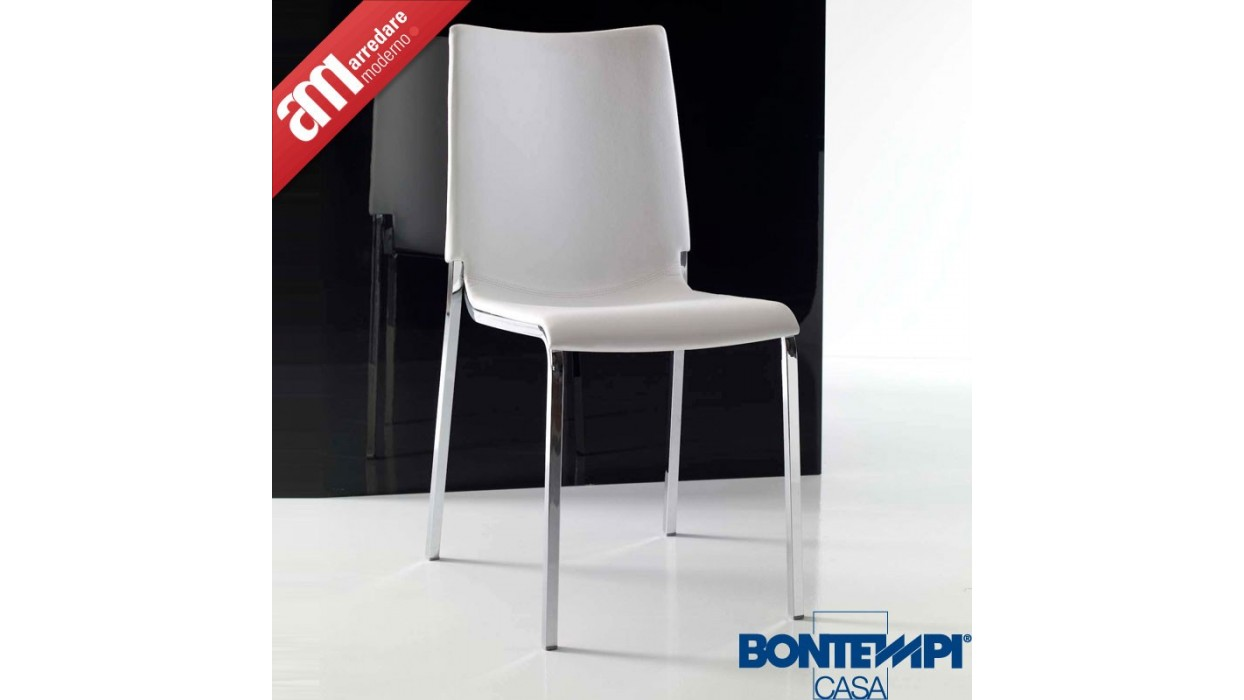 Home > TABLES AND CHAIRS > Chairs > Sedia Eva imbottita Bontempi Casa
