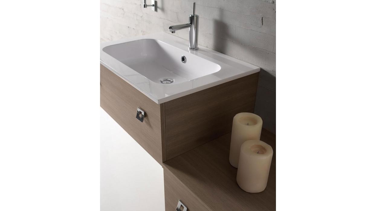 Mobile bagno modello venere101 labor legno arredare moderno - Mobile legno bagno ...