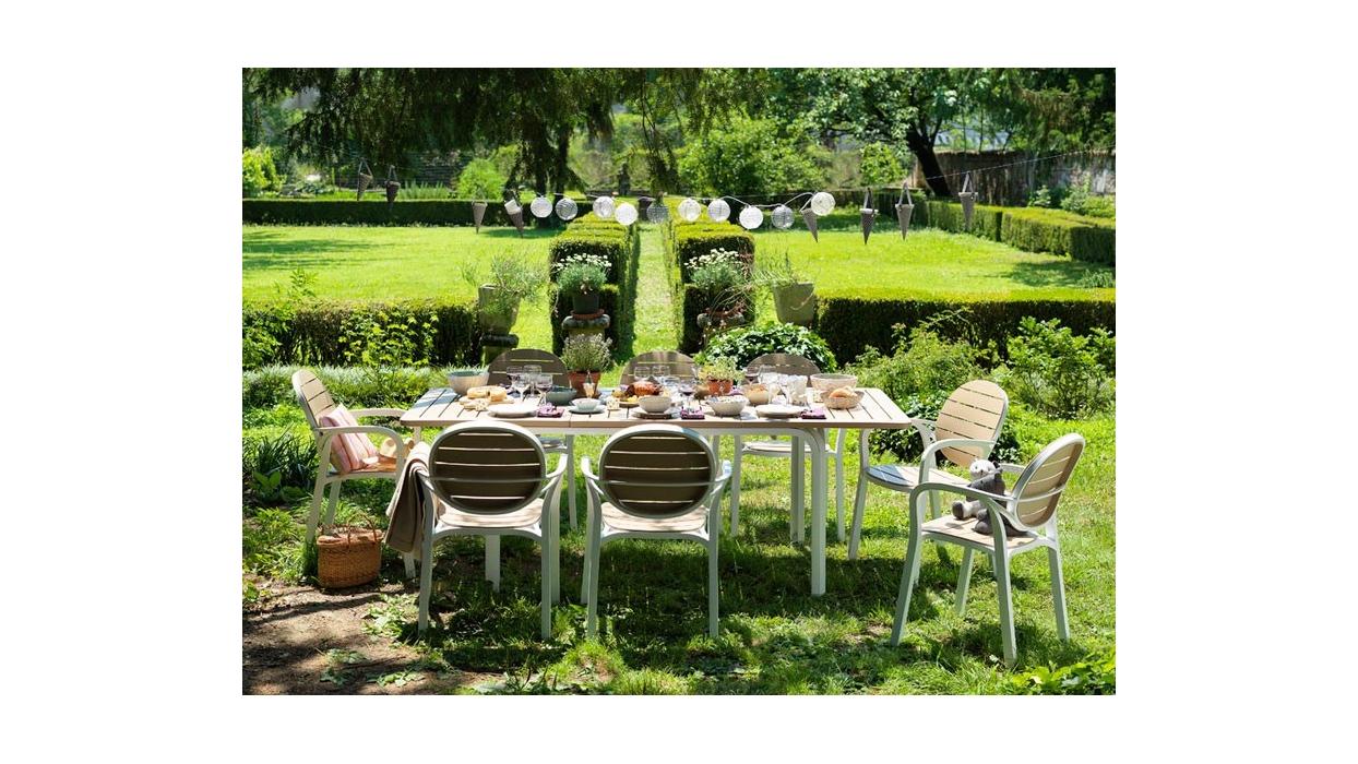 Table nardi model alloro 140 arredare moderno for Table 140 cm extensible