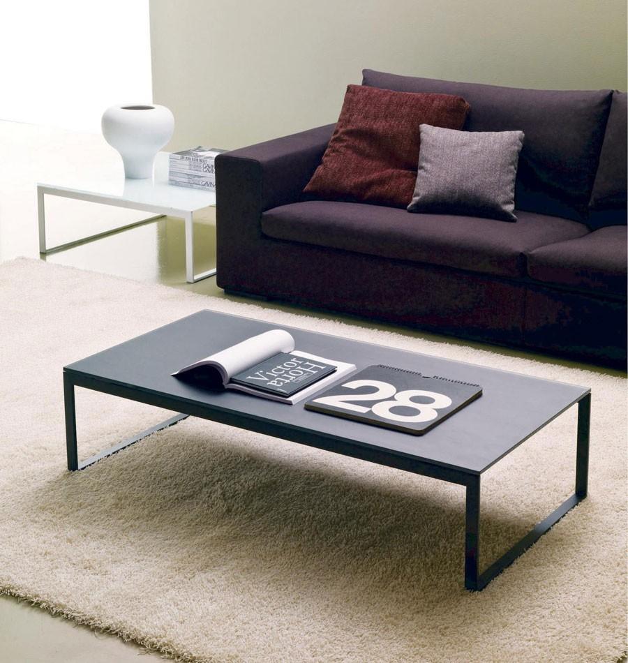 tavolino bontempi casa modello hip hop - arredare moderno - Tavolino Acciaio Laccato Ginger Bontempi