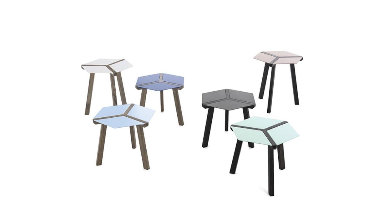 tavolino bontempi casa modello esa - arredare moderno - Tavolino Acciaio Laccato Ginger Bontempi