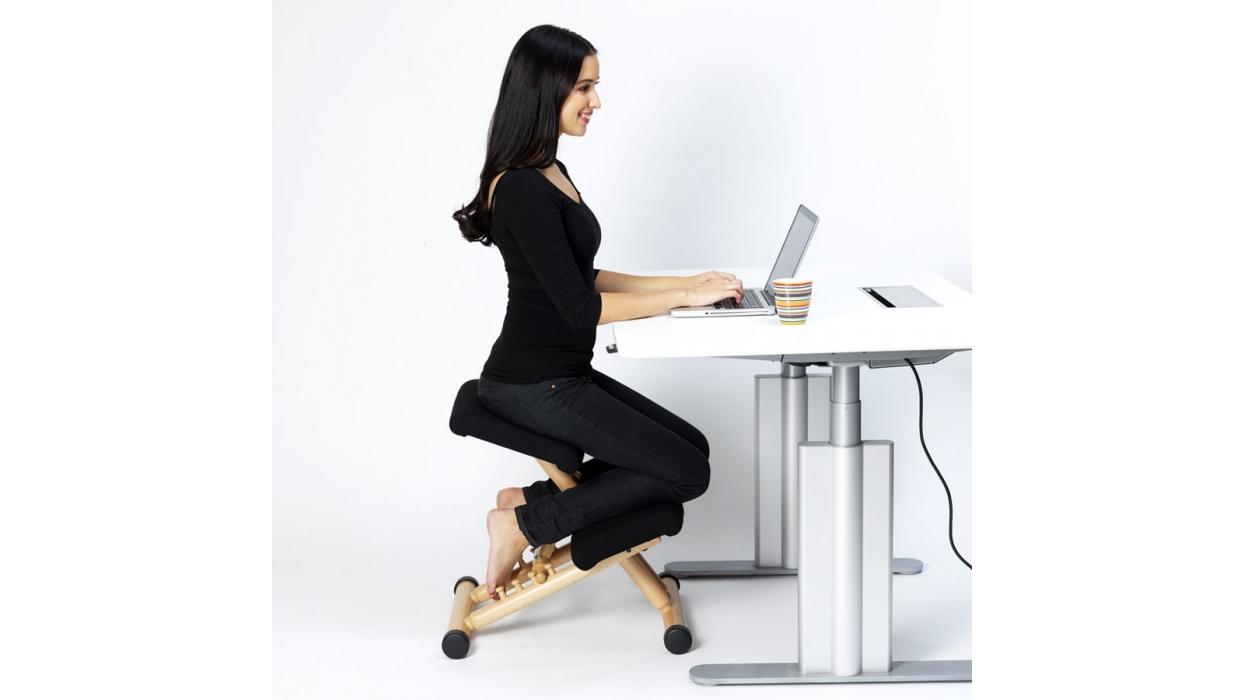 Chair varier model multi balans arredare moderno - Chaise ergonomique repose genoux ...