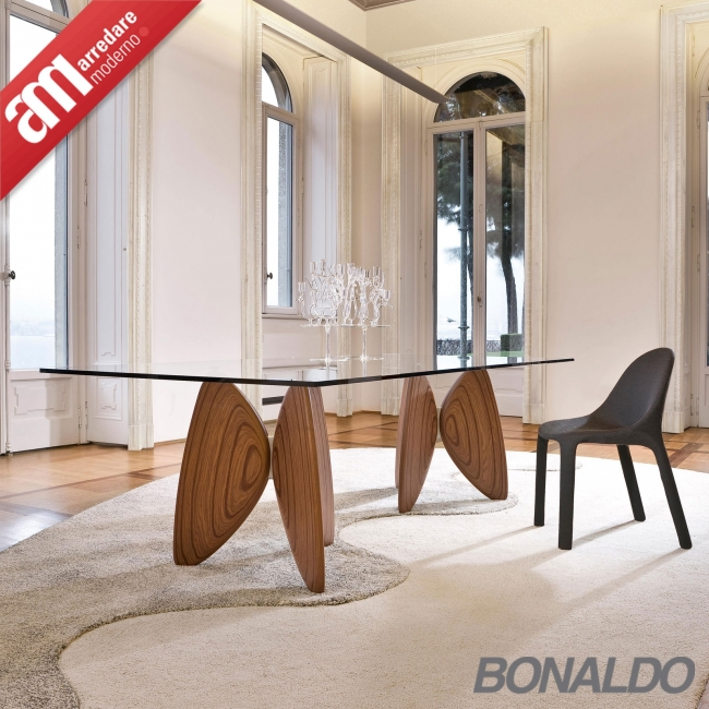 Table Bonaldo model Vanessa rectangular - ARREDARE MODERNO